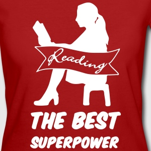 Superpower Reading - Women's Organic T-shirt