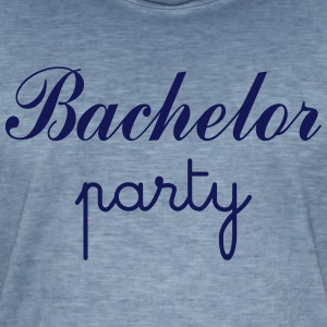 Bachelor Party Tee shirts - T-shirt vintage Homme