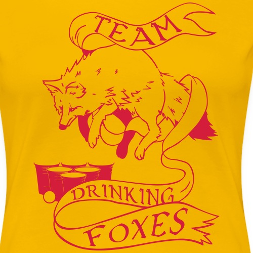Drinking Foxes