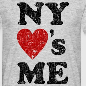 NEW YORK LOVES ME T-Shirt - Männer T-Shirt