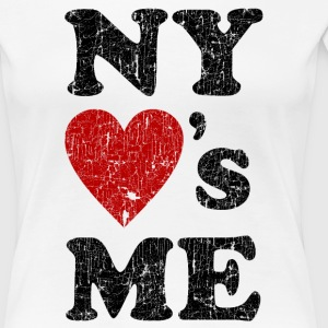 NEW YORK LOVES ME T-Shirt - Frauen Premium T-Shirt