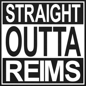 Straight outta Reims - T-shirt Homme