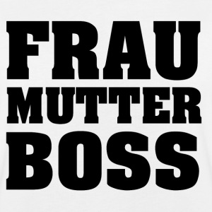 Frau Mutter Boss T-Shirts - Frauen Oversize T-Shirt