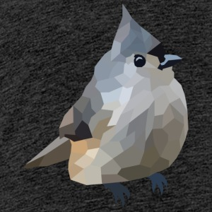 Polygon Art: Tufted Titmouse T-Shirts - Teenager Premium T-Shirt