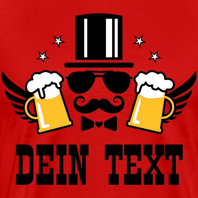 Bachelor Party Elite JGA Mann Zylinder Bier T-Shirt