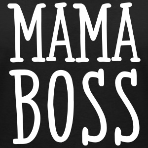 Mama Boss T-Shirts - Women's V-Neck T-Shirt