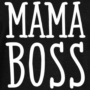 Mama Boss Hoodies & Sweatshirts - Women's Boat Neck Long Sleeve Top
