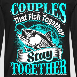 Couples - fishing - EN Long sleeve shirts - Men's Premium Longsleeve Shirt