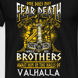 Does Not Fear Death - Viking - EN T-shirts - Herre premium T-shirt