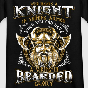 Bearded Glory - Viking Shirts - Teenage T-shirt