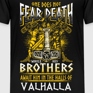 Does Not Fear Death - Viking - EN Shirts - Kids' Premium T-Shirt