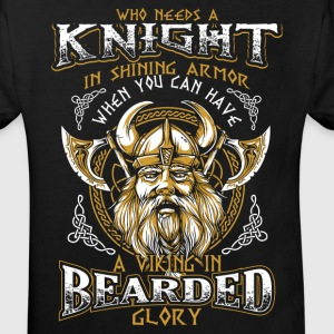 Bearded Glory - Viking Shirts - Kids' Organic T-shirt