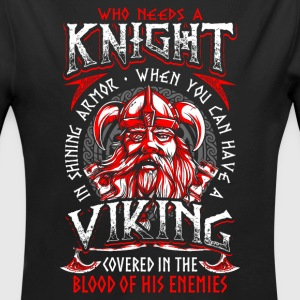 Who Needs A Knight - Viking - EN Babybody - Økologisk langermet baby-body