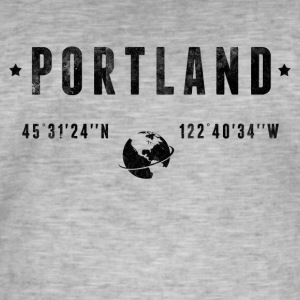 Portland Tee shirts - T-shirt vintage Homme