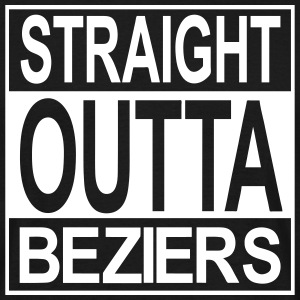 Straight outta Béziers - T-shirt Homme