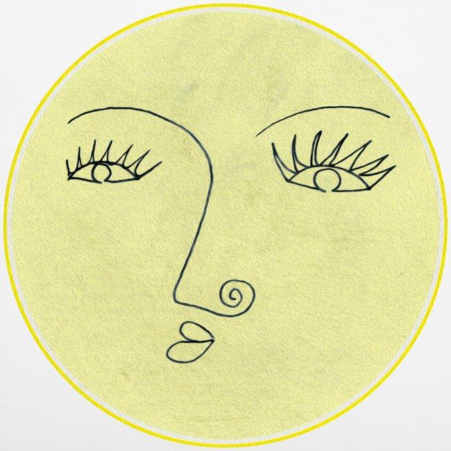 Vollmond - Gesicht
