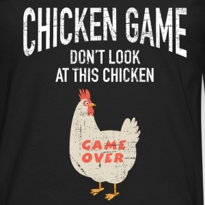 Chicken Game | Funny Joke Design Manga larga - Camiseta de manga larga premium hombre
