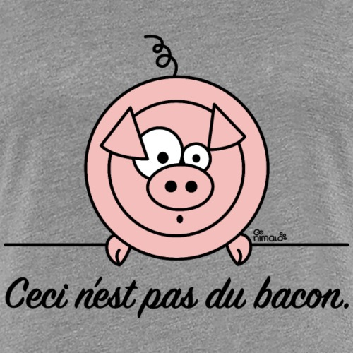 Cochon, Pas du Bacon, Végan
