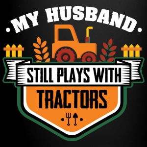 Farmer Play with Tractors Mugs & Drinkware - Full Colour Mug
