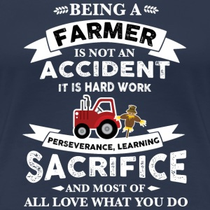 Farmer Being a farmer T-Shirts - Women's Premium T-Shirt