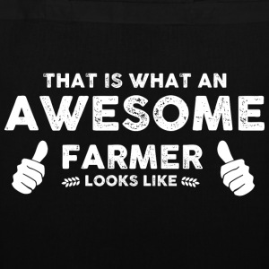 Farmer Awesome farmer Bags & Backpacks - Tote Bag