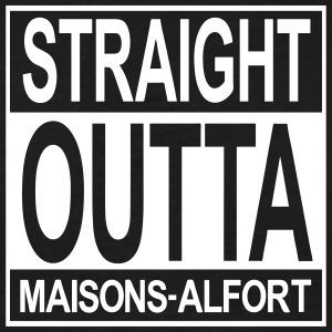 Straight outta Maisons-Alfort - T-shirt Homme