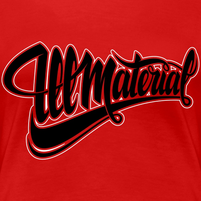 Ill Material tee (W)