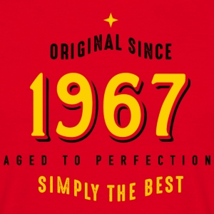 original since 1967 simply the best 50. Geburtstag - Männer T-Shirt