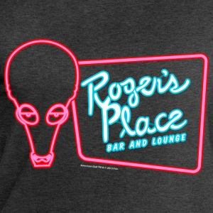 American Dad Roger's Place Bar Sign - Sweatshirts for menn fra Stanley & Stella