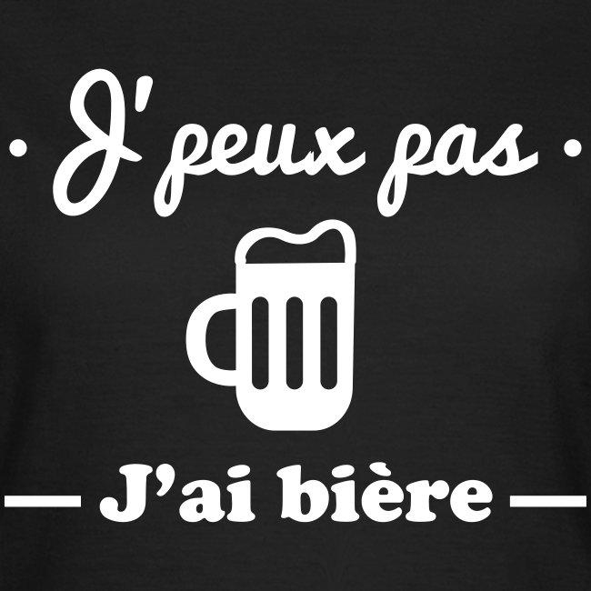 J'peux pas j'ai bière