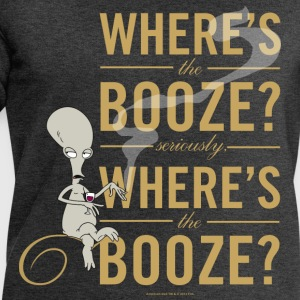 American Dad Where's The Booze - Sweatshirts for menn fra Stanley & Stella
