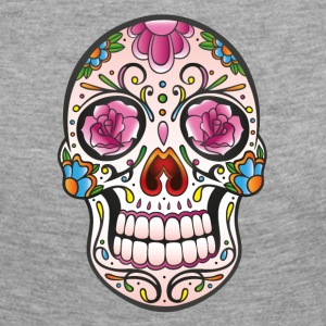 Traditional Mexican sugar skull - Women's Premium Longsleeve Shirt