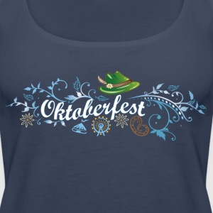 German Oktoberfest decoration - Women's Premium Tank Top