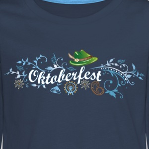 German Oktoberfest decoration - Teenagers' Premium Longsleeve Shirt