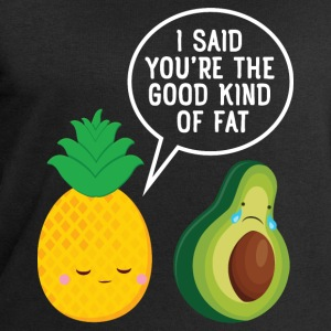 Cute Pineapple & Avocado | You're The Good Fat... Pullover & Hoodies - Männer Sweatshirt von Stanley & Stella