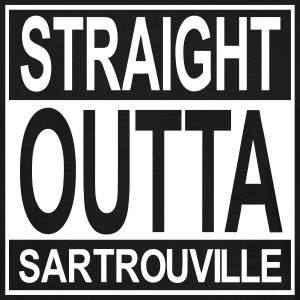 Straight outta Sartrouville - T-shirt Homme