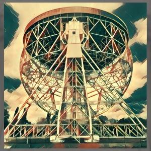Lovell Radio Telescope at Jodrell Bank - Men's T-Shirt