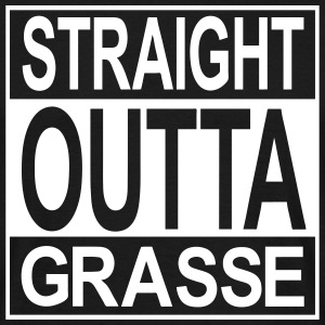 Straight outta Grasse - T-shirt Homme