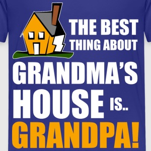 best grandpa house T-Shirts - Kinder Premium T-Shirt