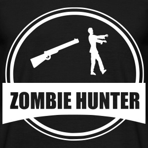 Zombie hunter  Tee shirts - T-shirt Homme