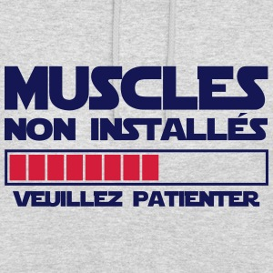 MUSCLES NON INSTALLES Sweat-shirts - Sweat-shirt à capuche unisexe
