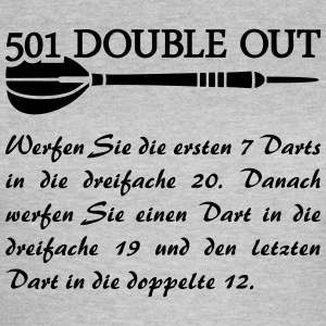 501 Double Out Darts  Dart Dartpfeil  T-Shirts - Frauen T-Shirt