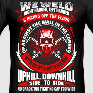We Weld - Welder - EN T-Shirts - Männer Slim Fit T-Shirt