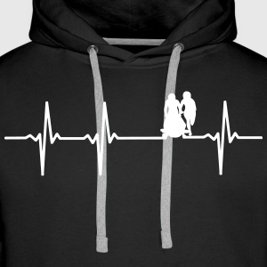 Bobsledder pulse sweaters & hoodies - Men's Premium Hoodie