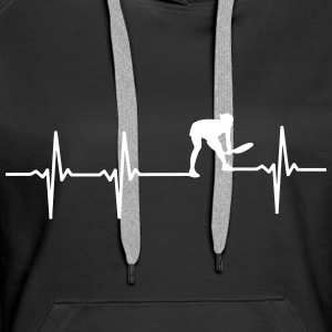 Chandails de tennis ECG & hoodies - Sweat-shirt à capuche Premium pour femmes