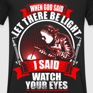 When God Said - Welder Tee shirts - T-shirt Homme col V