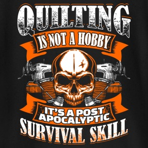 Quilting Is Not A Hobby - Quilting - EN baby shirts met lange mouwen - T-shirt