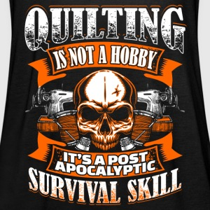 Quilting Is Not A Hobby - Quilting - EN Tops - Camiseta de tirantes mujer, de Bella