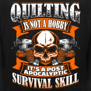 Quilting Is Not A Hobby - Quilting - EN Sports wear - Men's Premium Tank Top