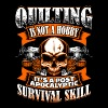 Quilting Is Not A Hobby - Quilting - EN Tee shirts - T-shirt Homme col V